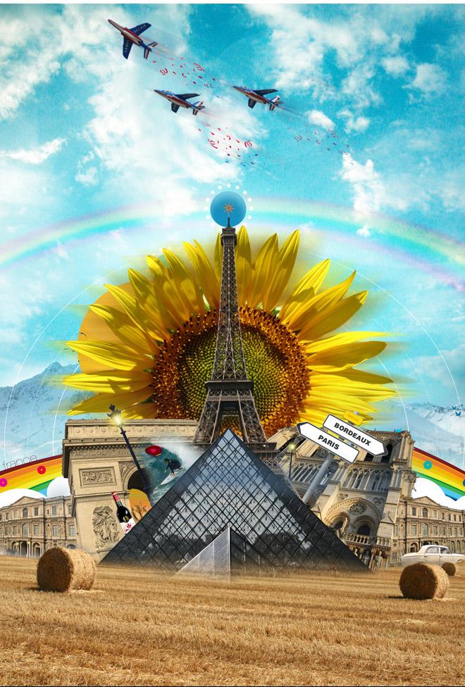 Graphic design inspiration: Daniel von Burkersroda Paris-Bordeaux