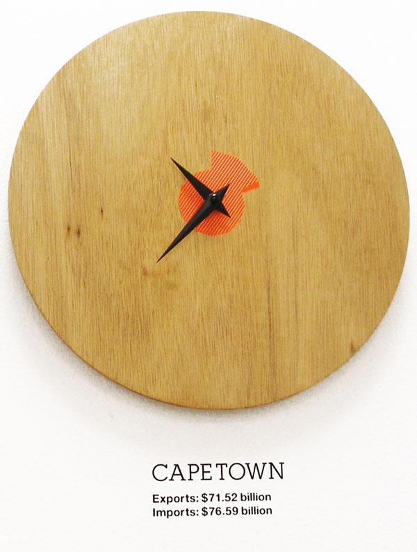 Graphic design inspiration: studio-oh clock capetown