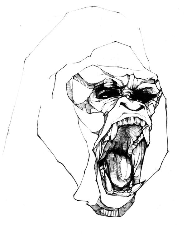 drawing-inspiration-behance-chow-martin-monkey