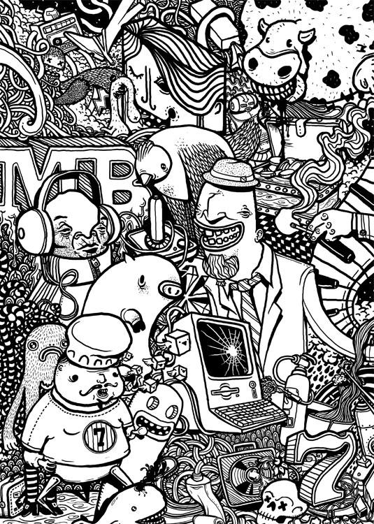 studio wallpaper psd