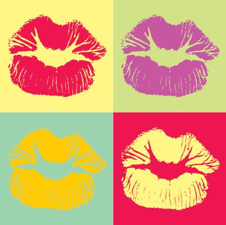 freebies-pop_art_kiss-vector