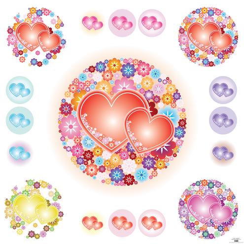 freebies-vectors_vector-flowery-hearts-preview-by-dragonart