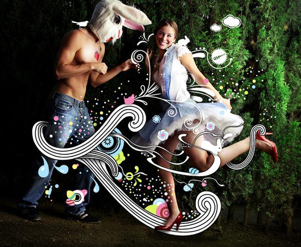 graphic-design-inspiration-elena-savitskaya-easter-party-flyer