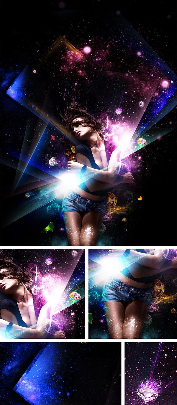 graphic-design-inspiration-elena-savitskaya-nightclub-poster