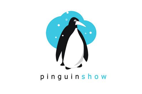freebies-logotypes-pinguin-show