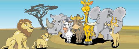 vector-freebies-africananimals