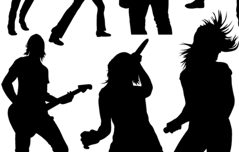 freebies-music-vectors-live-music-silhouette