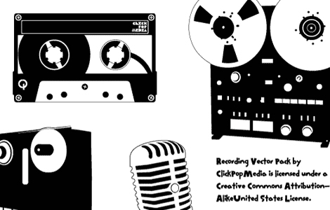 freebies-music-vectors-recording-pack