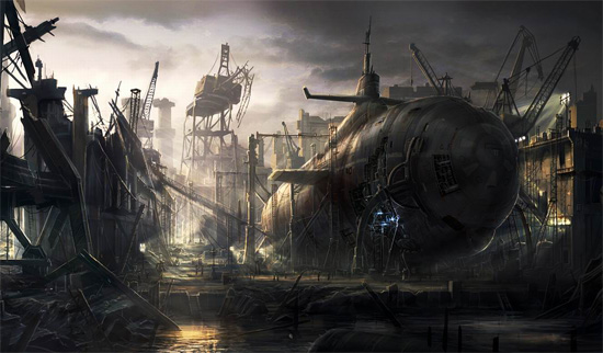 digital-art-inspiration-old-submarine-by-radojavor