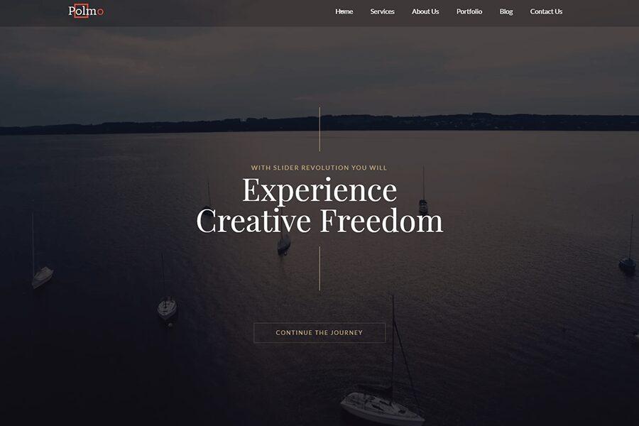 Polmo WordPress theme