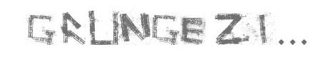 Dirty Fonts