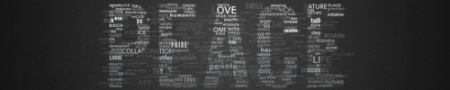 Typographic Wallpaper