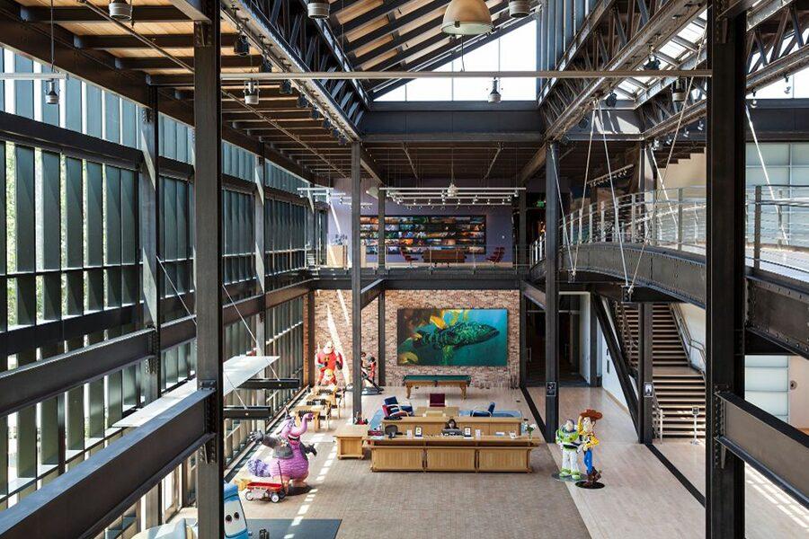 Pixar office