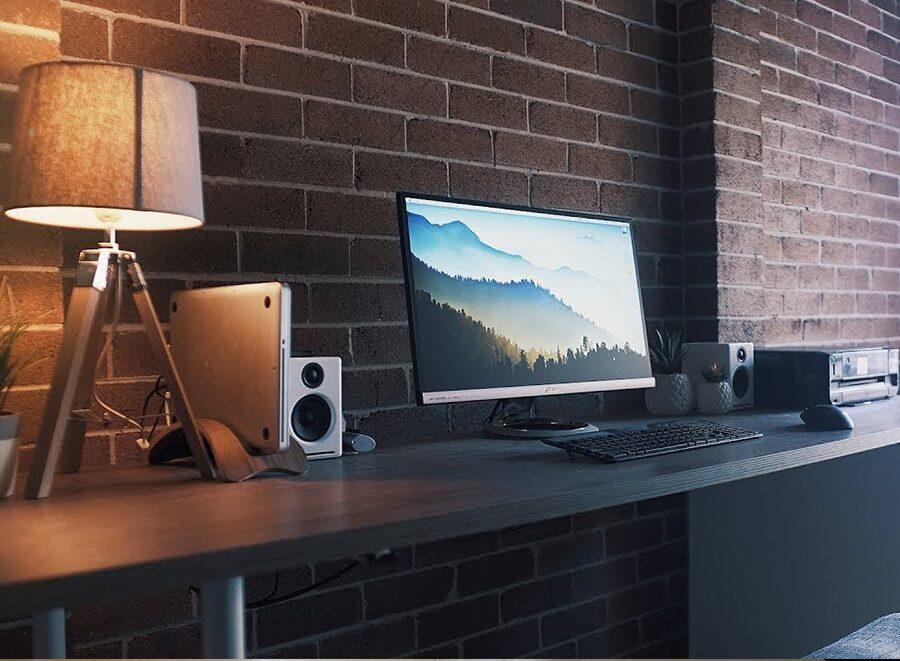 sam beckman office minimal design space