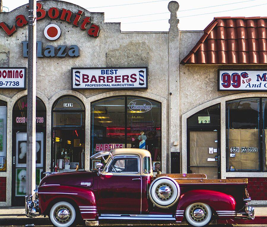 vintage barber