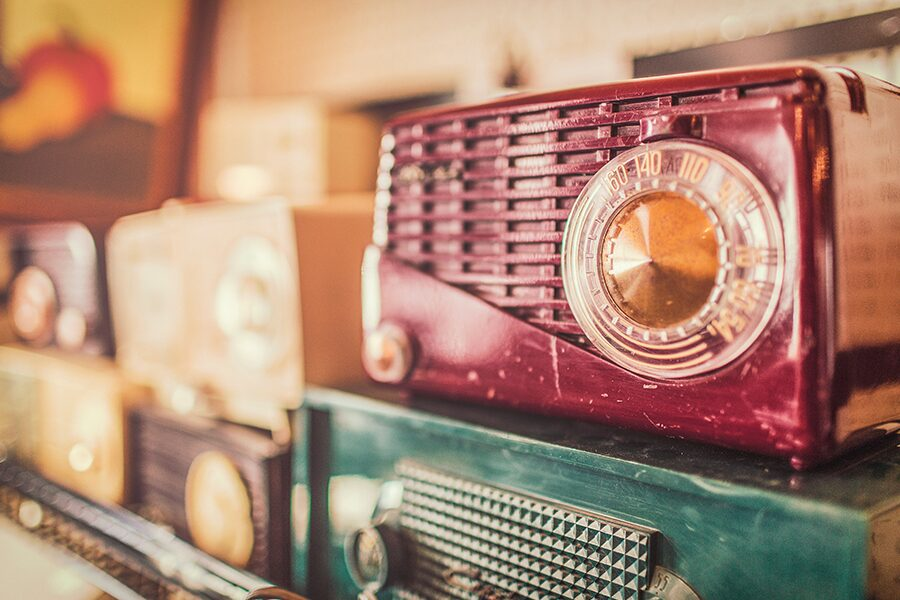 vintage radio