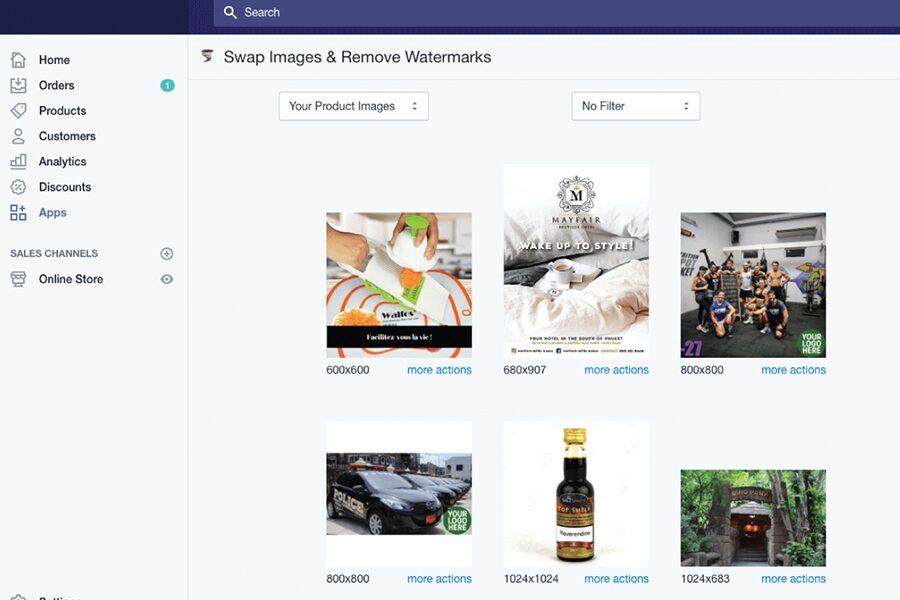 Swap Photo Editor Shopify