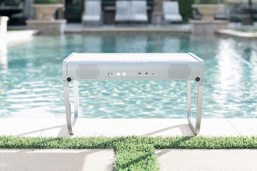 goportable near a pool