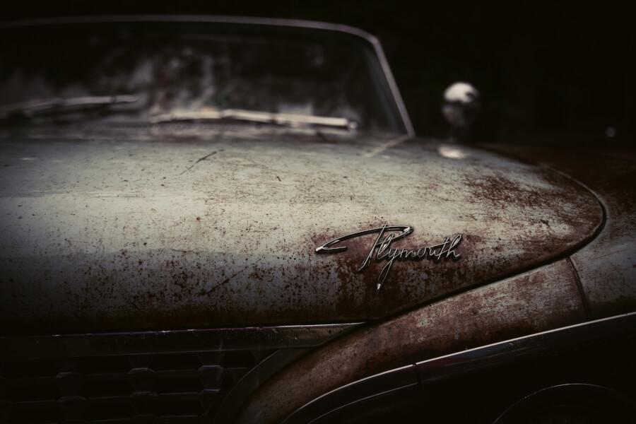 Lindsay, Canada Rusty Vintage Car
