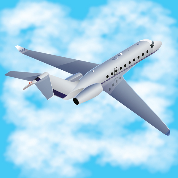 How to Create a 3D Airplane with Adobe Illustrator, by Iaroslav Lazunov