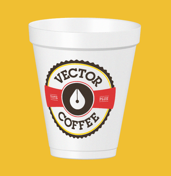 Create a Coffee Cup Mock Up in Adobe Illustrator Using the 3D Revolve Effect, by Cheryl Graham