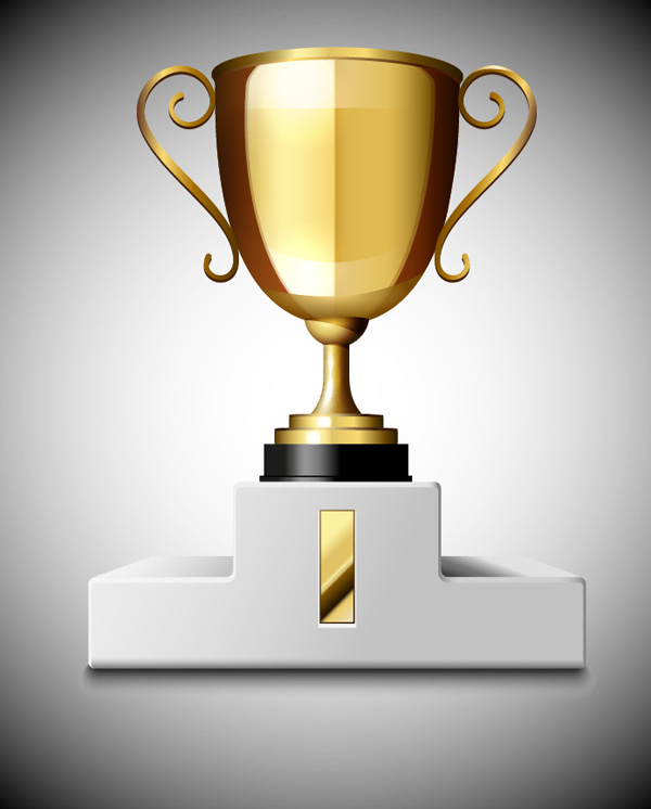 How to Create a 3D Gold Trophy Cup Using Adobe Illustrator, by Iaroslav Lazunov