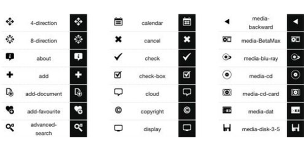 Default Icons- Minimalist Icon Design Set