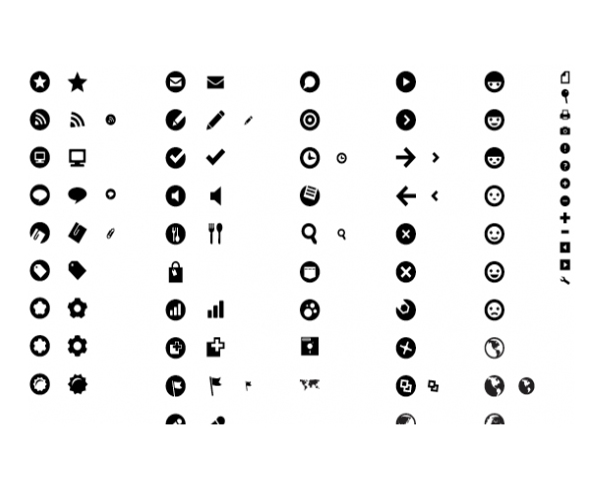 Bright Mix - Minimalist Icon Design Set