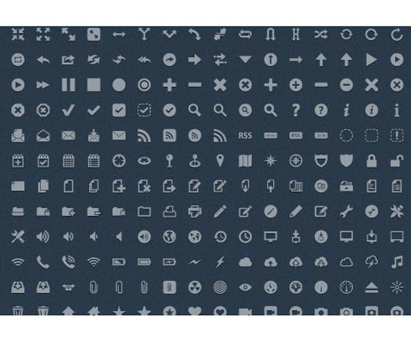 Pictos - Minimalistic Icon Design Set