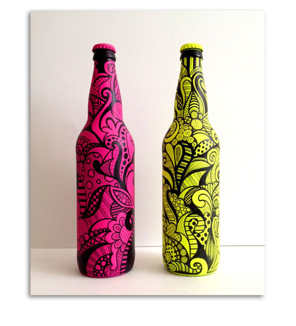 Bottle Art, by Alia Syed