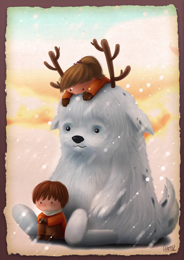 Create an Adorable Children's Illustration, by Liran Szeiman