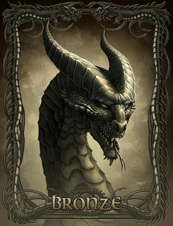 Making of Bronze Dragon, by Kerem Beyit