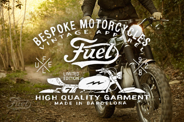 Fuel Motorcycles apparel branding by BMD Design