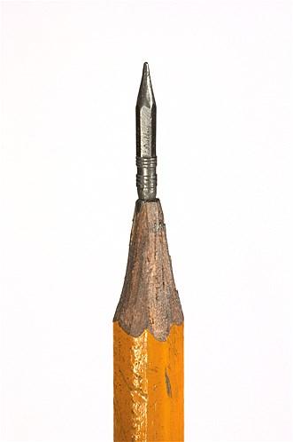 Dalton Ghetti Pencil Sculptures, via MSN (Photos by Sloan Howard)