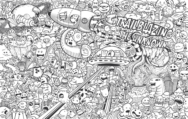Wall Doodles, by Rico Greyvensteyn