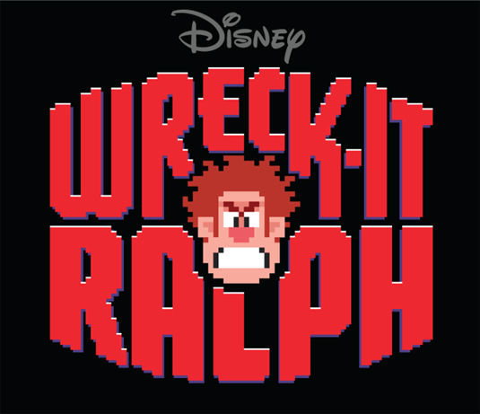 "Title Treatment for Disney's ""Wreck-It Ralph"" by Michael Doret"
