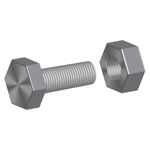 How to Illustrate a Screw-bolt and a Nut with 3D Effects in Illustrator, by Alexander Egupov