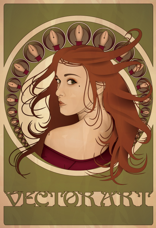 Create an Art Nouveau Poster in Illustrator, by Tutorials Hive
