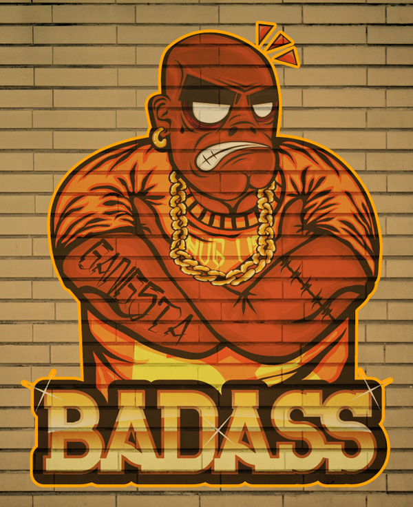 Create a Badass Hip Hop Character in Illustrator, tutorial by Marcos Torres