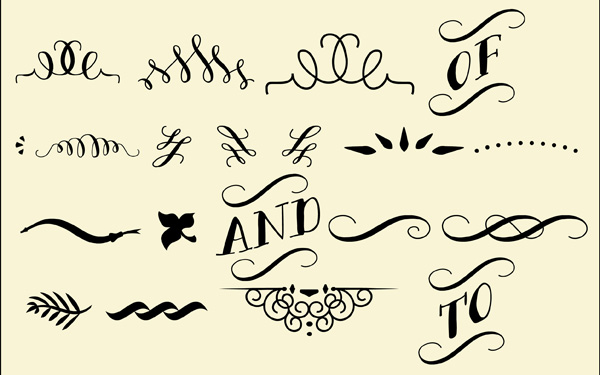 Hand Drawn Free Calligraphic Dingbat Fonts – Iniwoo.net ...