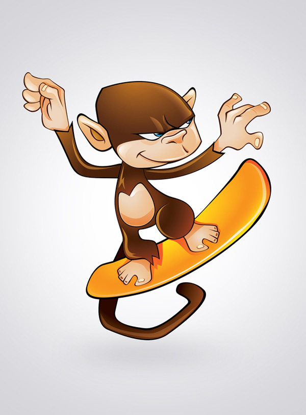 Create a Cartoon Character Using Adobe Illustrator by Mustag Firin