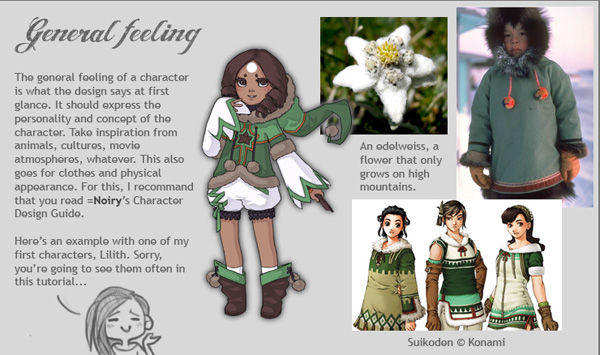 Character Design Tutorial by *Mademoiselle-Nuit