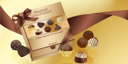 Chocolate Packaging Box, by Diana Toma