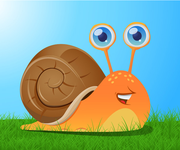 How To Create A Cute Snail, by Iaroslav Lazunov
