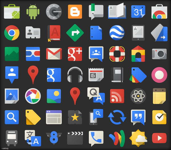60 Free Flat Icon Sets, by Arshad