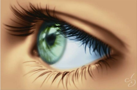 Digital Painting Tutorial: How To Draw An Eye, by Stephanie Valentin