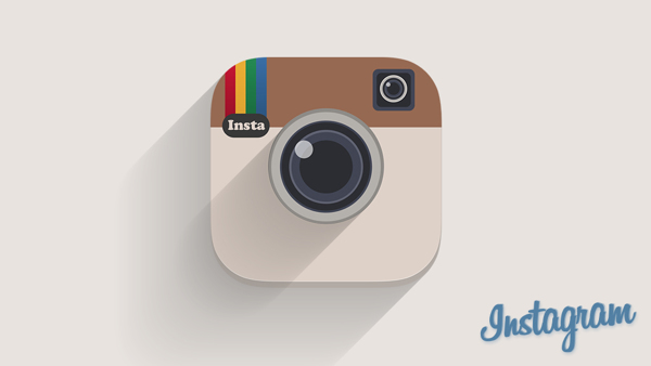 Instaflat - Instagram Icon - by Expressive Media