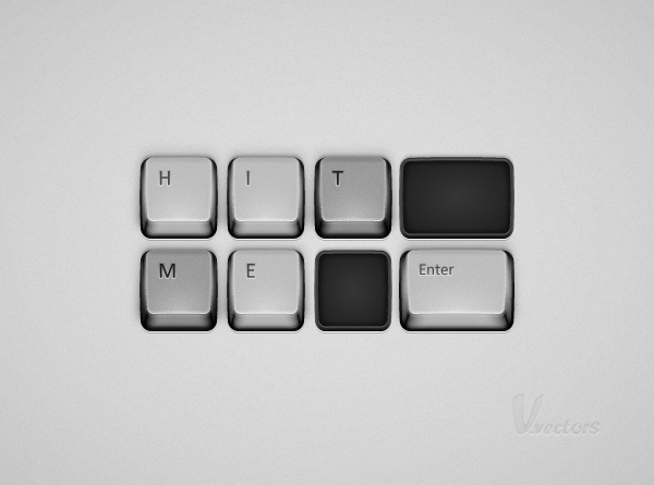 How to Create a Detailed Keyboard Button Illustration in Adobe Illustrator, by Andrei Marius