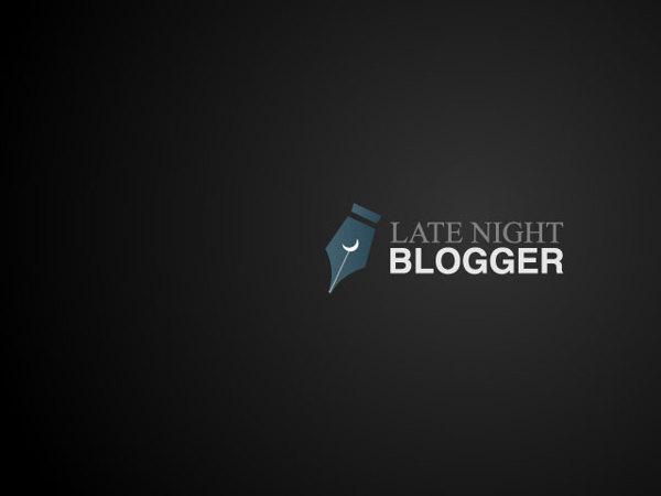LateNightBlogger - Brand Identity, by Arun Raj