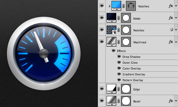 Mastering Photoshop: Noise, Textures, Gradients and Rounded Rectangles by Marc Edwards